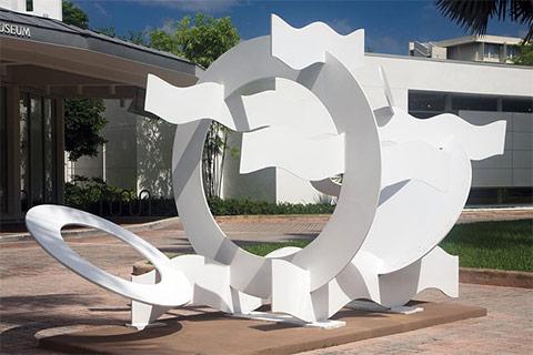 Public sculpture program, Circles and Waves by Hans van de Bovenkamp